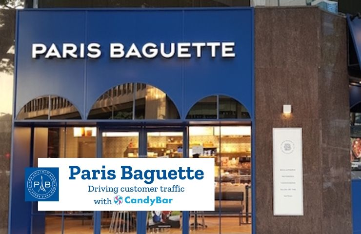 candybar loyalty case study paris baguette international bakery cafe restaurant punchcard