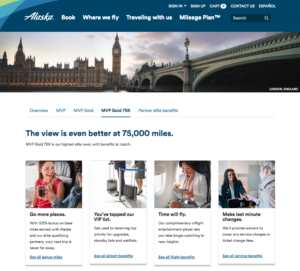 loyalty program examples - alaska airlines mileage plan