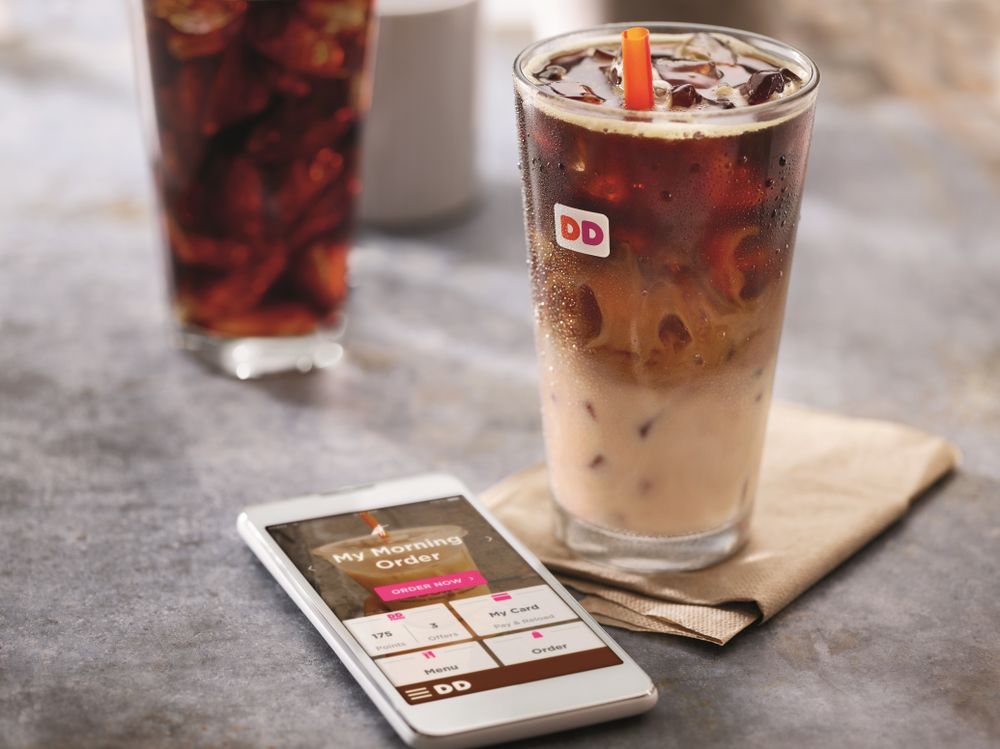 loyalty program examples - dunkin donuts loyalty program dd perks reward
