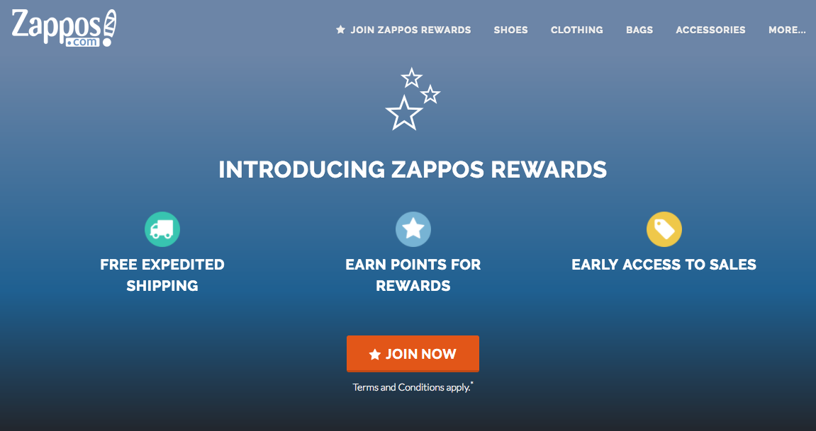 zappos customer loyalty program