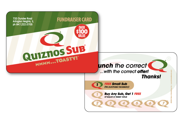 quiznos-punch-card