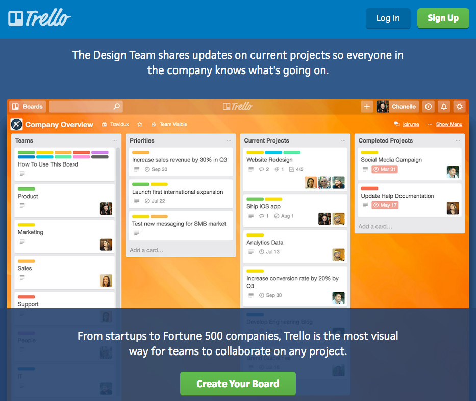 Trello business app