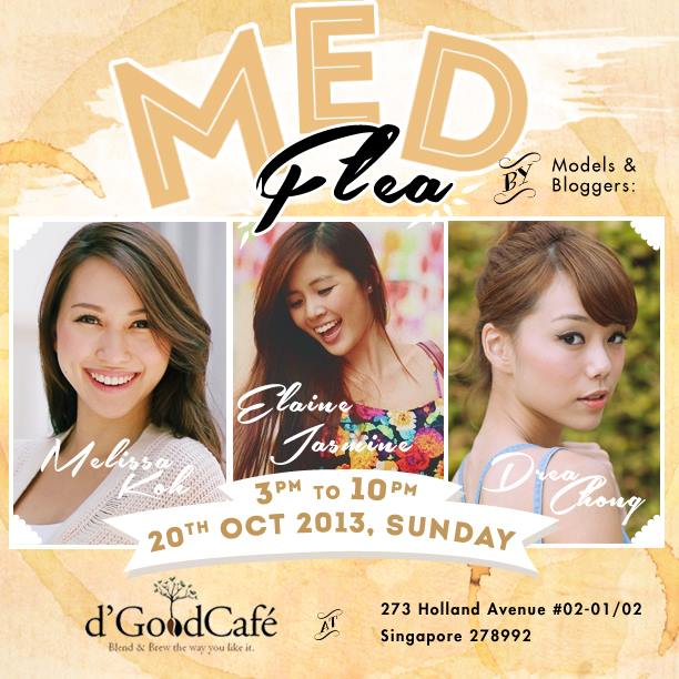 d'good cafe flea market singapore influencers melissa koh elaine jasmine drea chong candybar merchant stories