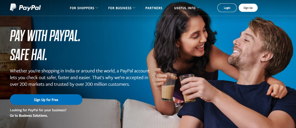 PayPal Site