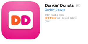 dunkin donuts loyalty program ddperks dunking mobile app five stars