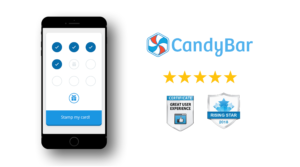award winning CandyBar Receives Great User Experience and Rising Star Awards