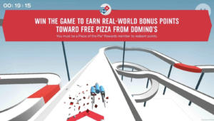 dominos loyalty program - piece of the pie mobile game