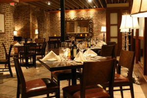 fine dining - menu, concept and customer service