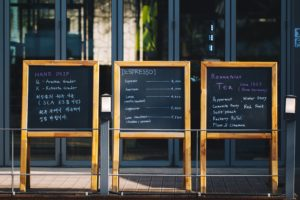 restaurant menu ideas - make it about more than pricing