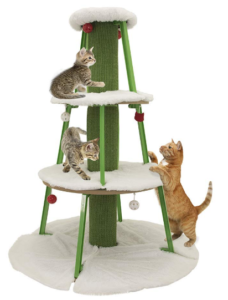 Christmas ideas for pets - cat tree
