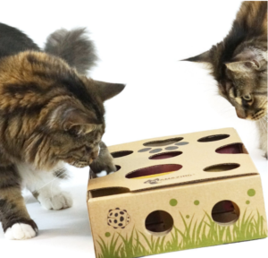 Christmas ideas for cats - cat maze treat dispenser