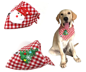Christmas ideas for pets - Christmas Bandana