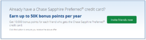 customer loyalty programs - chase preferred sapphire credit cards bonus points -- candybar loyalty rewards
