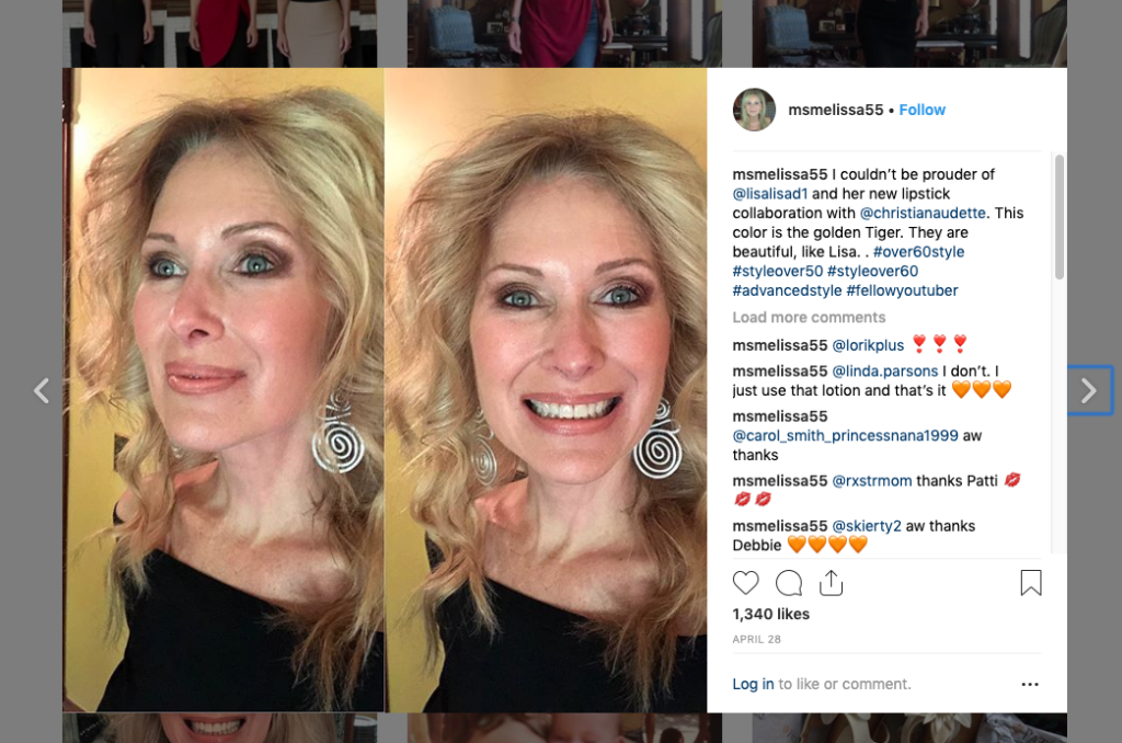 top beauty bloggers influencers beauty bloggers over 50