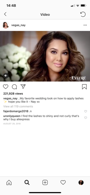 top beauty influencers @vegas nay youtube instagram beauty influencer 1