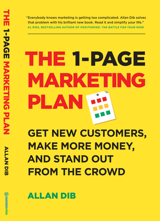 best small business books - one page marketing plan - allan dib