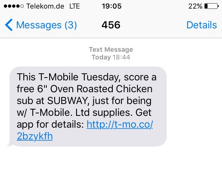 tmobile marketing text message marketing example download app