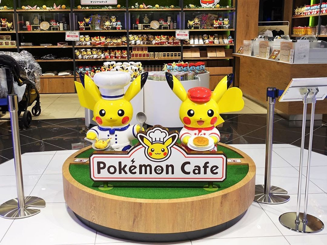 restaurant trends pokemon cafe experiential dining