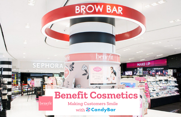 candybar case studies benefit cosmetics brow bar loyalty program prepaid bundle beauty service