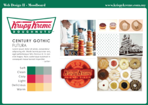 Krispy Kreme Marketing Agency Moodboard