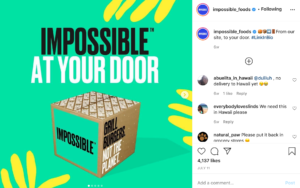 Impossible Foods tied up with ordering solution Cheetah — food delivery websites