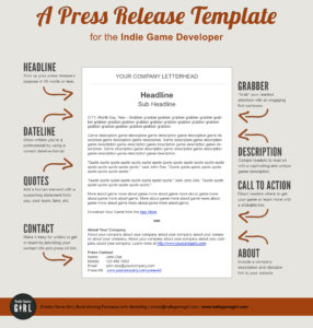 How does a press release look like?