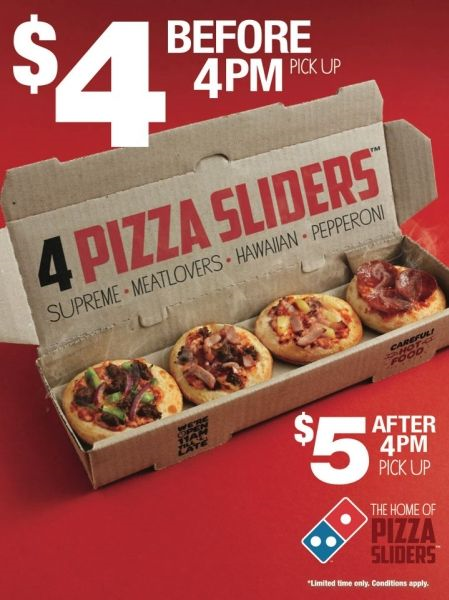 best restaurant ads domino's pizza sliders fast food ad