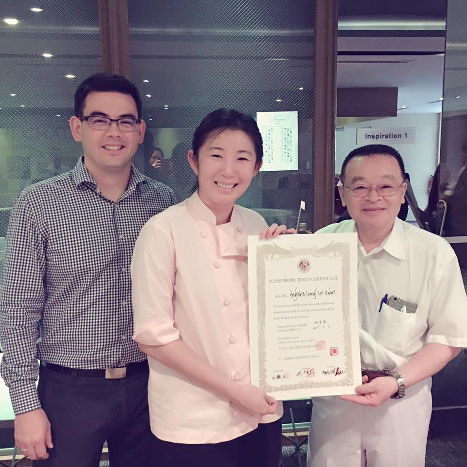 angelina leong sushi certification the flying squirrel candybar merchant story