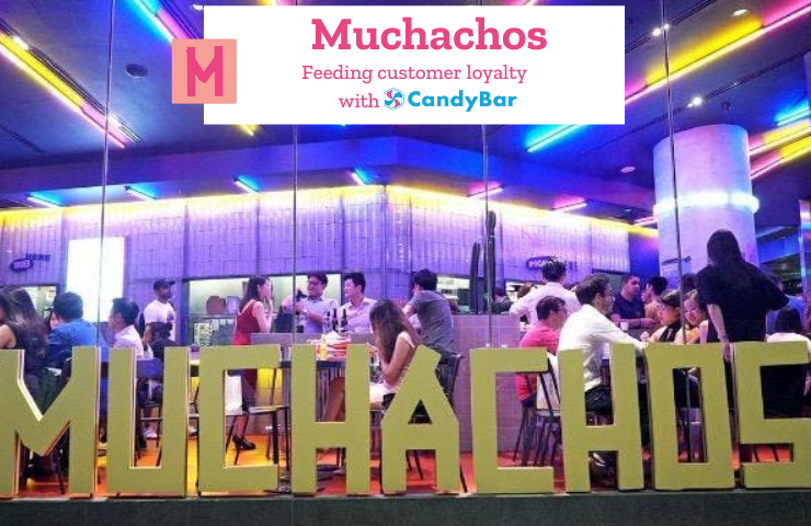 candybar loyalty case study muchachos mexican restaurant relaunch brand launch singapore
