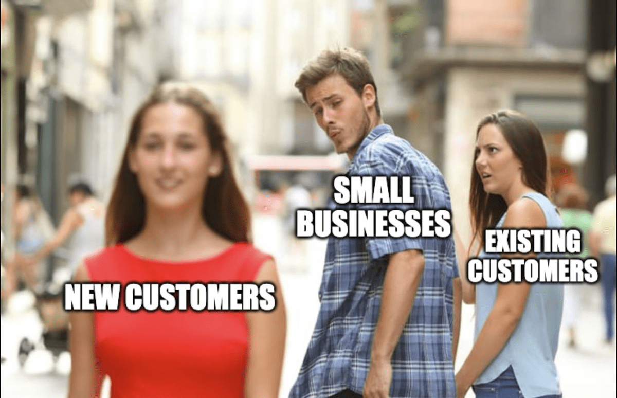 repeat customers customer retention existing customers