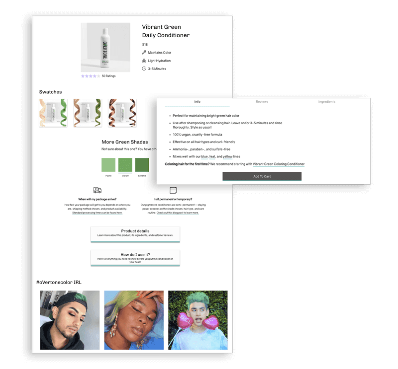 overtone discount conditioner benefits types of customers small business