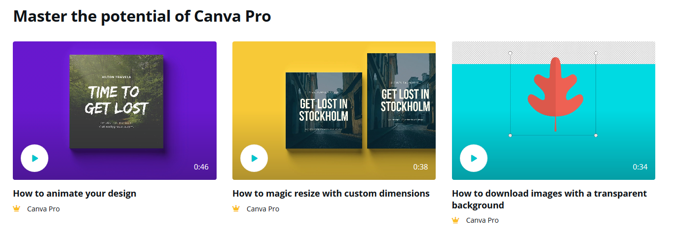 canva pro evergreen content for impulse shoppers types of customers small business